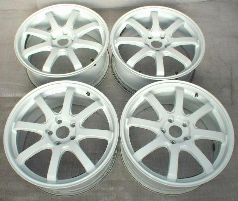 Bridgestone 18 7.5J 5x100 Alloy Wheels Legacy Impreza BG5 GC8