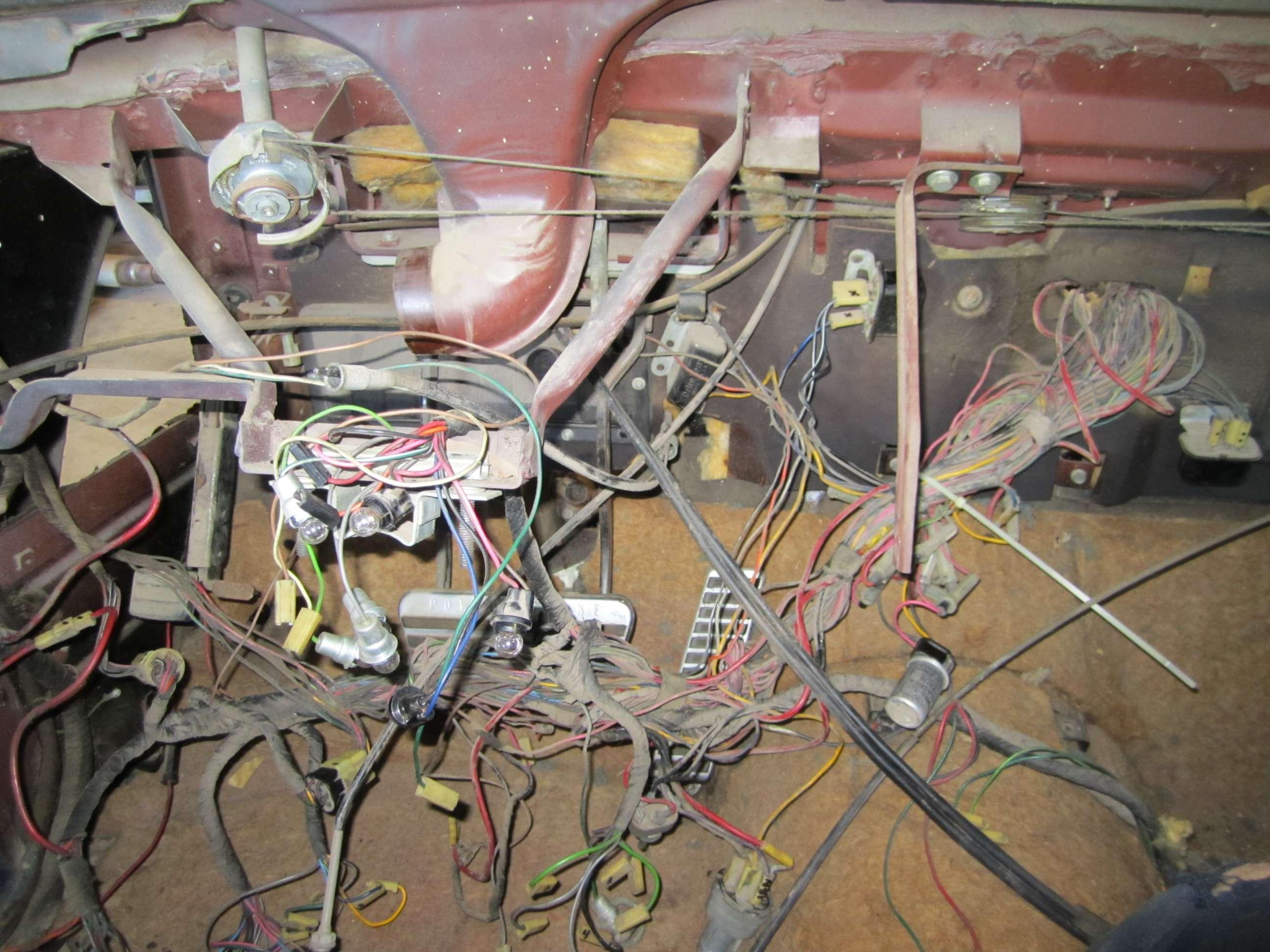 Eldorado Brougham - 1959 cadillac wiring harness