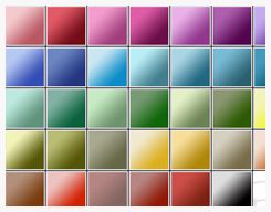 Monochromatic Gradients by purple-graphics @ deviantart