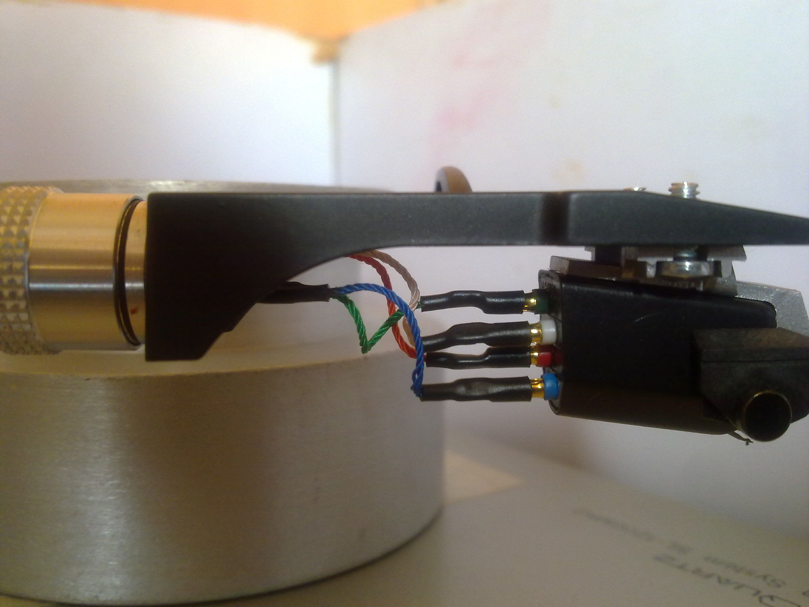 success technics sl1200mkii tonearm rewire and damping this image has been resized click this bar to view the full image the original image is sized 2592x1944