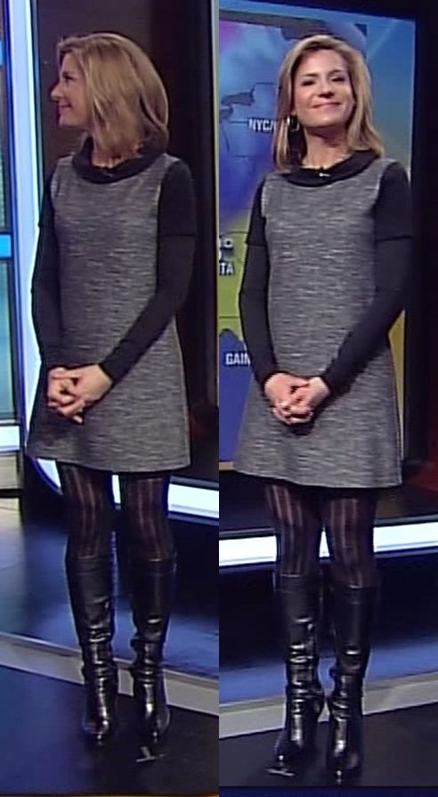Jen Carfagno hot boots